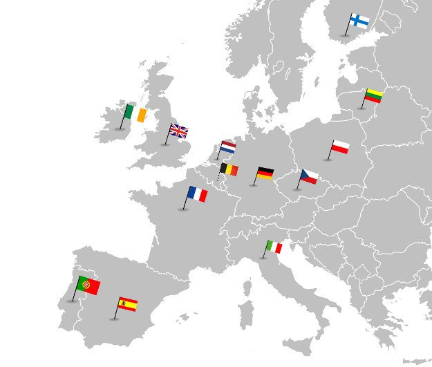 UK Web hosting in Europe